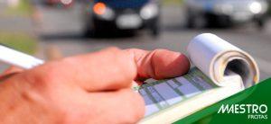 As multas sem identificação de condutor em uma frota