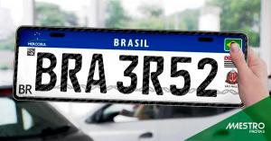 Como vão ser as novas placas padrão Mercosul?